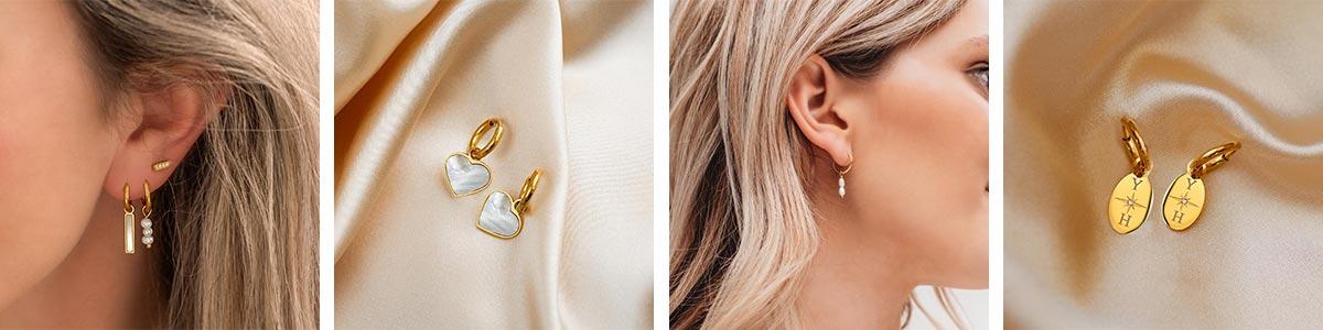 Casual oorbellen