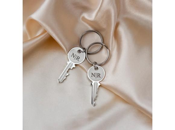 Forever love sleutelhangers graveerbaar