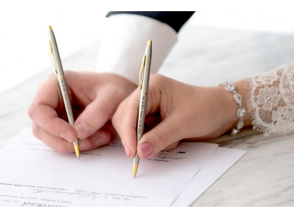 Gepersonaliseerde Pennen voor Bruidspaar