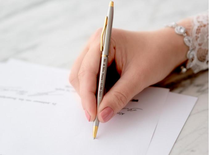 mooie graveerbare pen kopen voor om te tekenen
