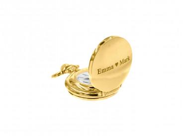 Mini Pocket Watch Goud