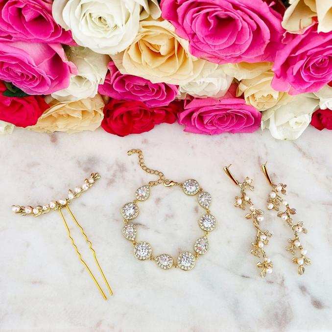 Trendy bruidssieraden voor een trendy look om te kopen