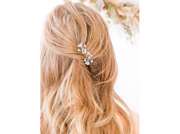 Haarsieraad bruid met steentjes