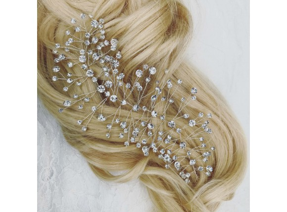 Crystal Elegance hair accessory from DRKS