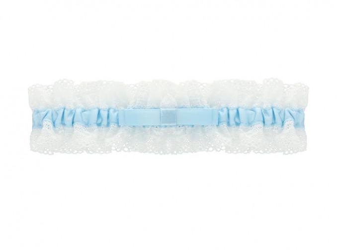 Kousenband Bruid Blauw
