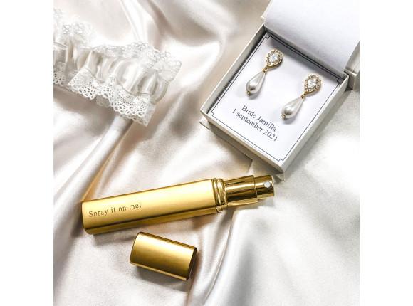 Graveerbare Parfumverstuiver Goud Kleurig