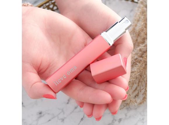 Graveerbare Parfumverstuiver Roze