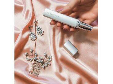 Zilveren parfumverstuiver
