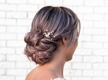 Romantic hairpin zilver