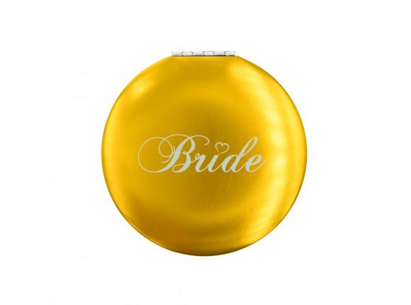 Gouden handspiegeltje met Bride