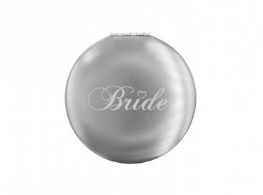 DRKS Graveerbaar Bride Spiegeltje Zilver voor de bruid