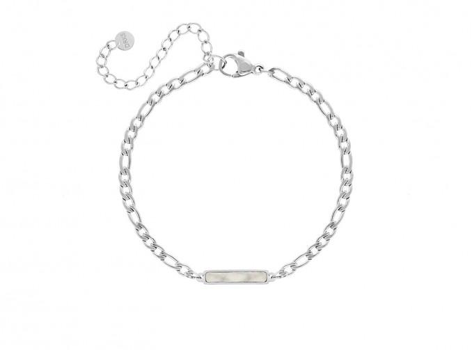 Armband parelmoer bar