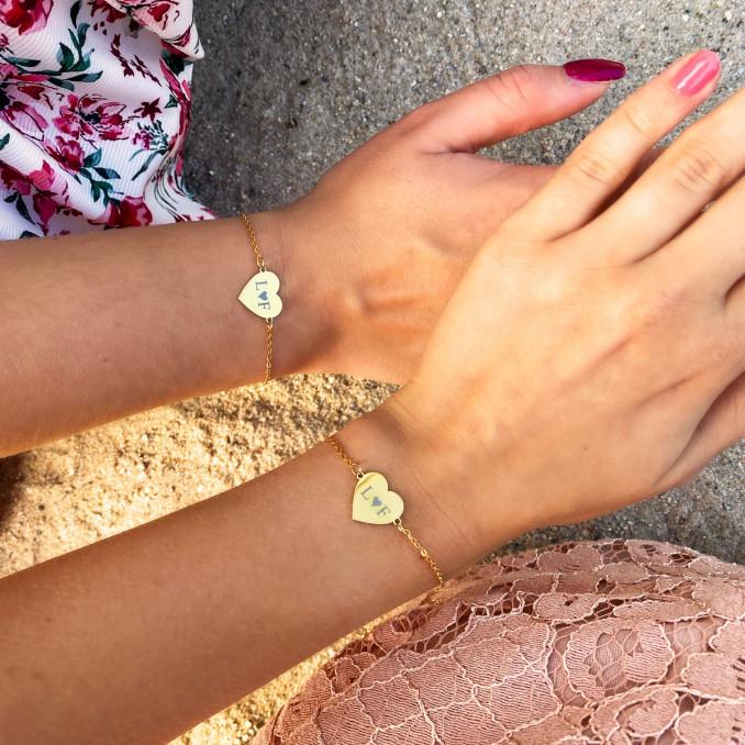Shop de mooiste moeder en dochter armbandjes in het goud