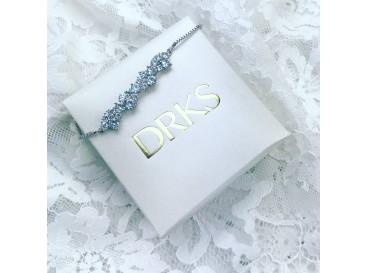 Elegante bruidsarmband zilver van DRKS