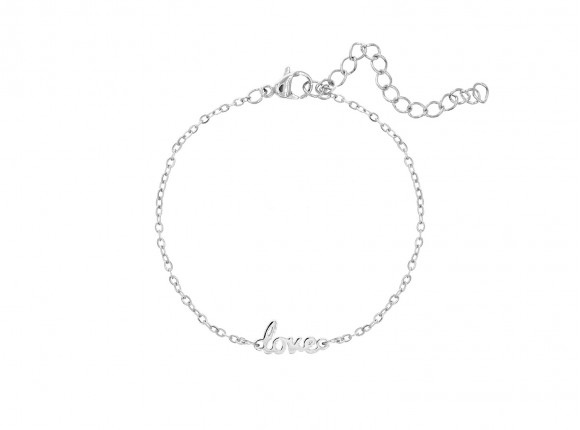 Love armband kind zilver