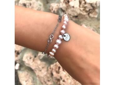 Armband Infinity Tekens Zilver