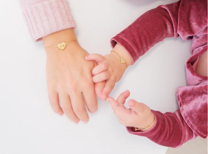 gouden armbanden voor de hele familie