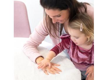 Moeder & Dochter Armband Graveerbare Hartjes Goud