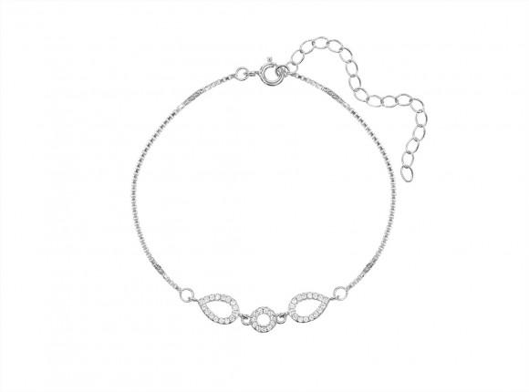 Minimalistische armband sterling zilver