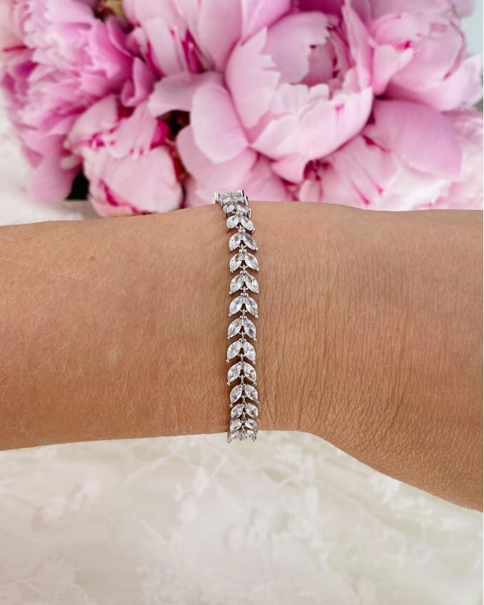Armband voor de bruid voor een mooie look