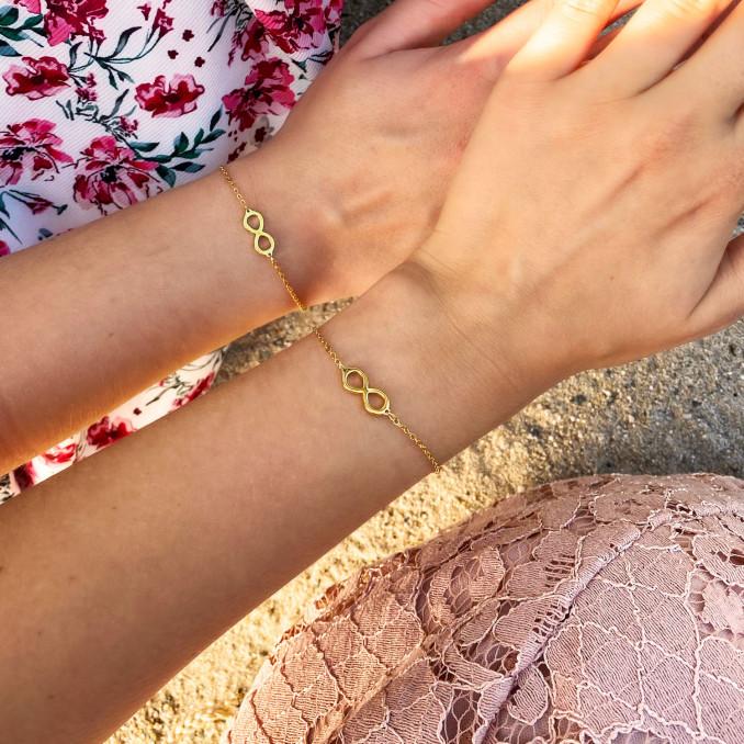 Shop de armbandjes in het zilver