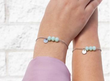 Charming Mint Bracelet