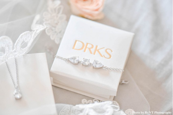 Minimalistische armband voor de bruid