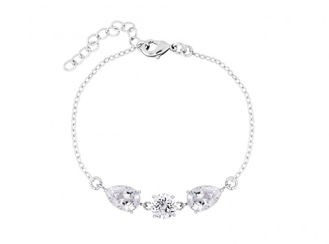 Daily Luxury Armband VII Zilver