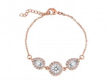 Daily Luxury Armband II Rose Goud Kleurig