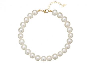 Pearl Armband Goud Kleurig