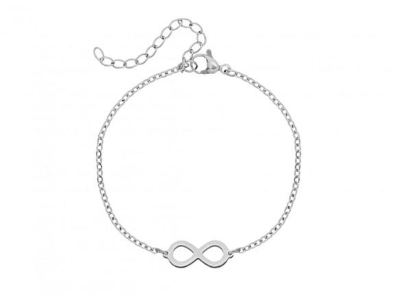 Infinity Armband Kind Zilver