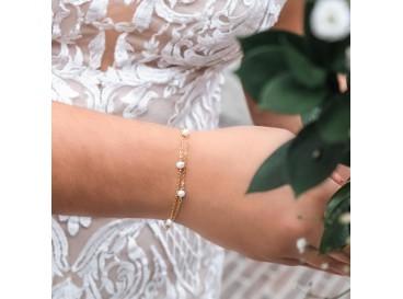 Belle Gold Ivory