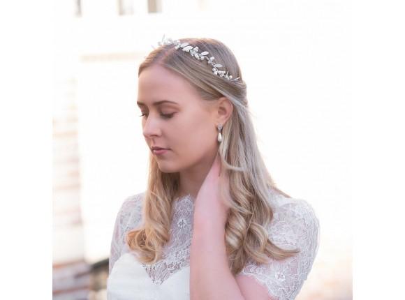 Faux Pearl Earrings Ivory