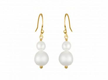 Jara Double Pearl Gold