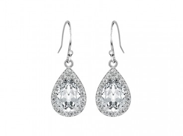 Daily Luxury Earrings XII Silver