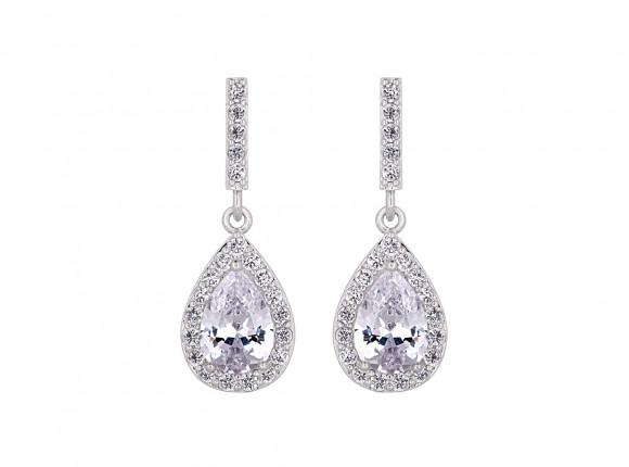 Daily Luxury Earrings XV Silver