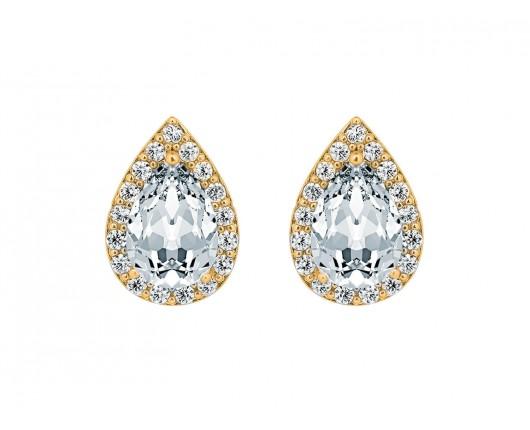 Daily Luxury Oorbellen VII Goud Kleurig