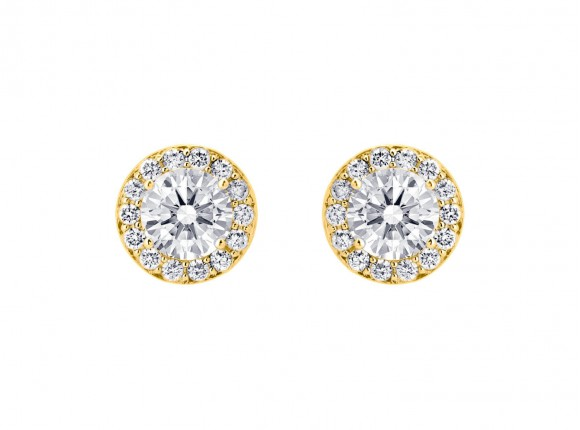 Daily Luxury Earrings Gold