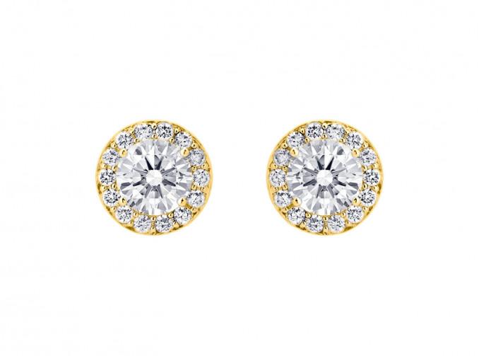 Daily Luxury Earrings Gold