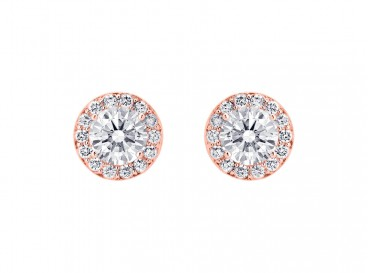 Daily Luxury Earrings Rose Gold