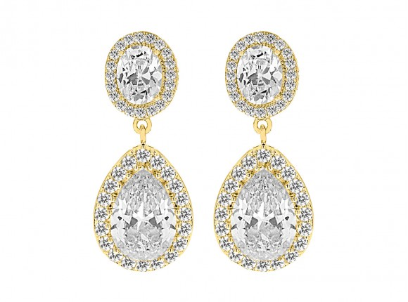 Daily Luxury Earrings IV Gold