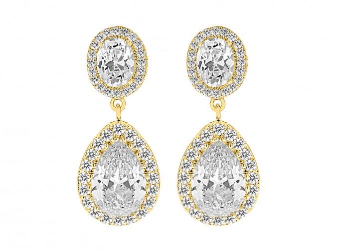 Daily Luxury Earrings IV Gold