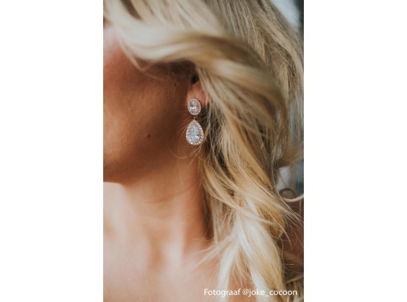 Daily Luxury Earrings IV Rose Gold