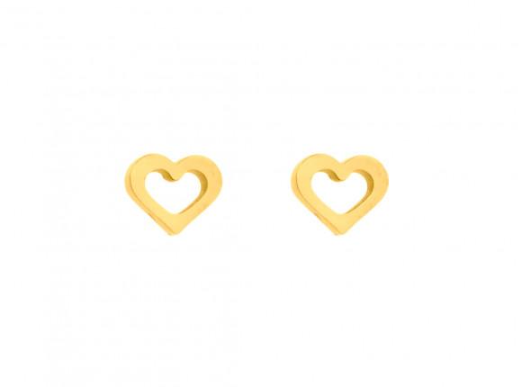 Oorbellen Hartjes Goud
