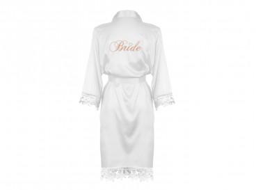 Kimono Bride met Kant Wit