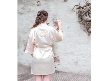 """Kimono """"Bride"""" Champagne"""