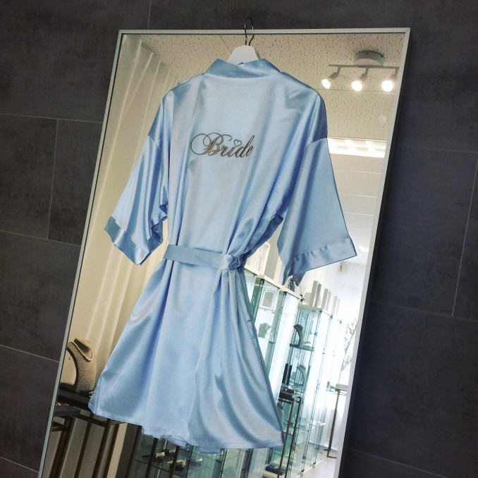 "Kimono ""Bride"" Blauw"