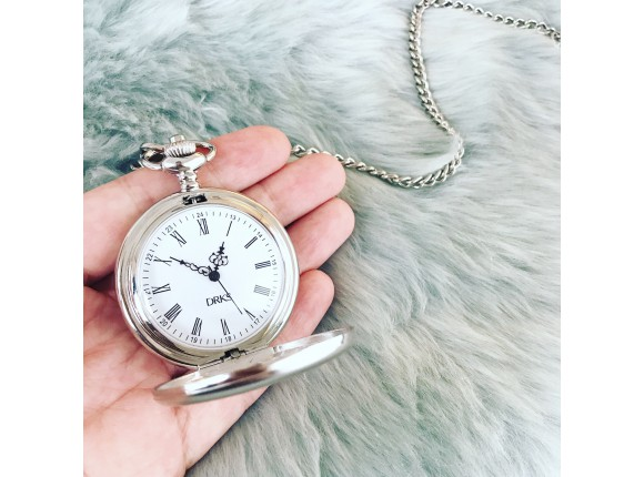 Graveerbare pocket watch