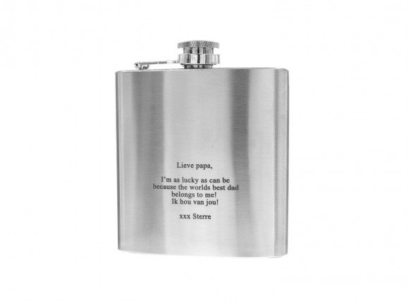 Engravable Hip Flask