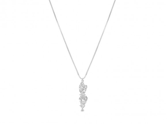 Minimalistische hanger ketting sterling zilver